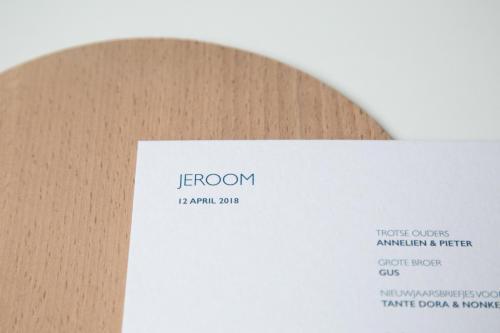 Geboortekaartje collectie - Jeroom4