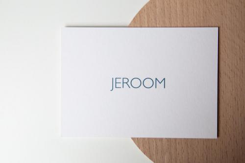 Geboortekaartje collectie - Jeroom