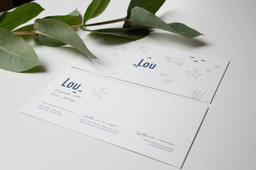 Geboortekaartje collectie - Lou